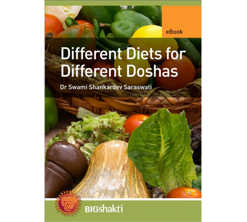 Different Diets for Different Doshas Book