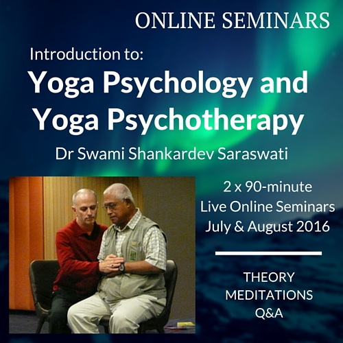 Yoga Psychology and Psychotherapy – Theory and Practice