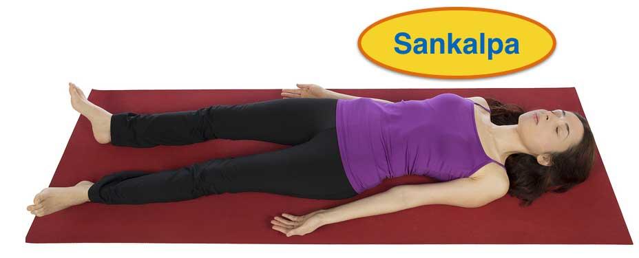Yoga Nidra with sankalpa