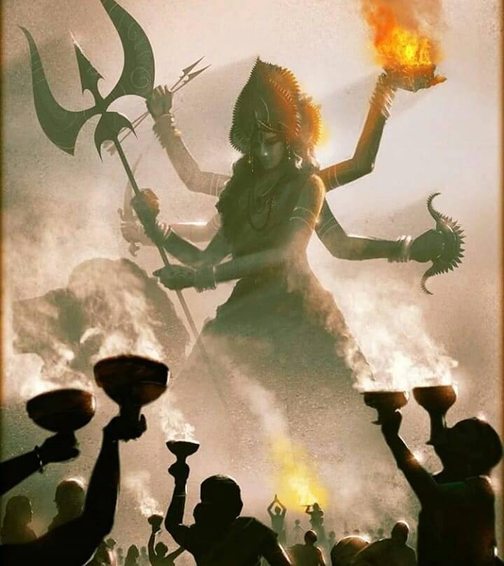 The Nine Nights Of The Goddess – Navarātri